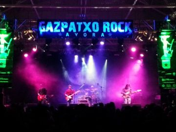 Gazpatxo Rock Portada