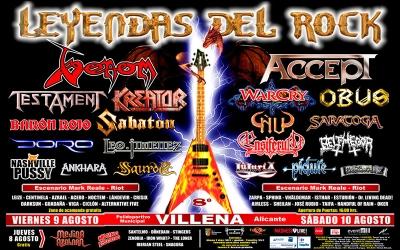 33 Leyendas del Rock 2013