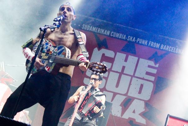Che Sudaka RockSesion1