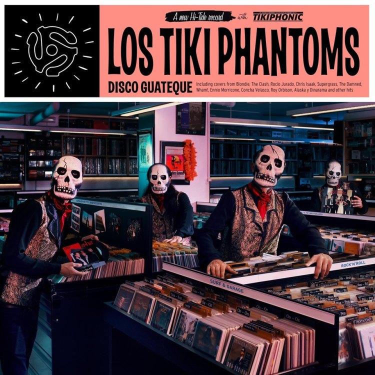 Resultado de imagen de Los Tiki Phantoms - Disco Guateque